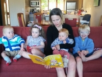 On Holiday with daughter Maria & Grandchildren...Loius, Alice, William & Henry