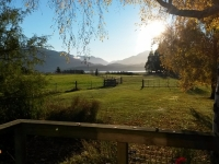 View from Blue cottage in Autumn