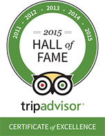 TripAdvisor Hall of Fame 2015
